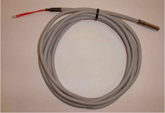 Resistencias en espiral de alambre forradas en espagueti para bajas temperaturas máximo 150 grados centígrados.