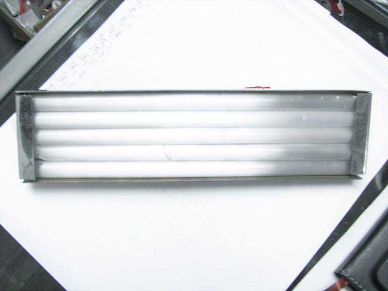 Resistencias en espiral introducidas en tubo de cuarzo