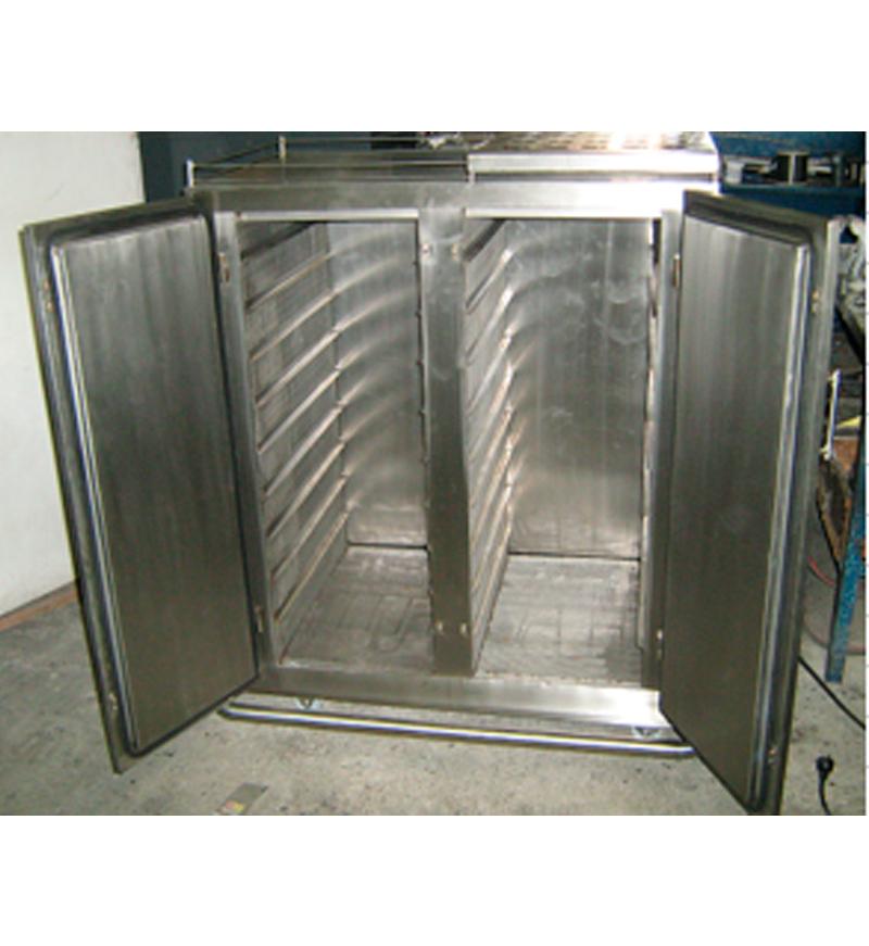 Hornos para secado de vegetales y deshidratación