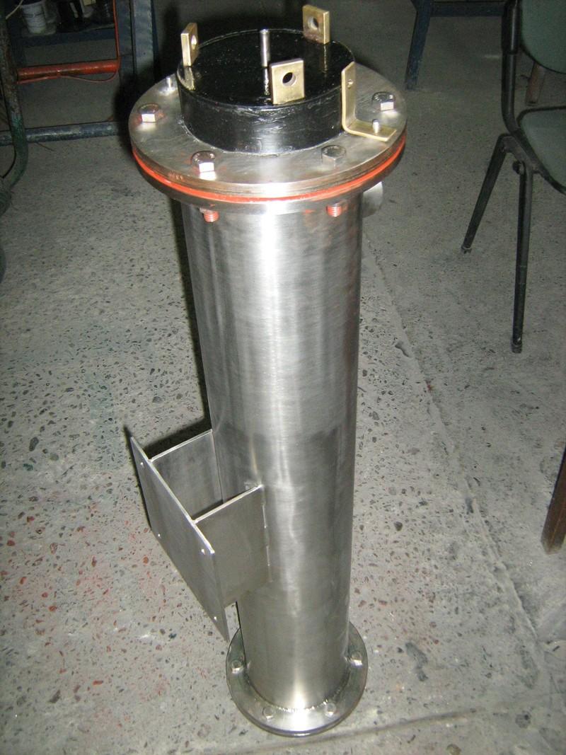 Calentadores de paso industriales