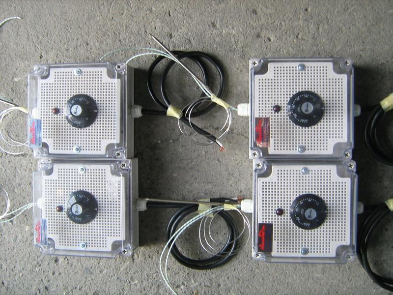 Cajas y tableros de control temperatura